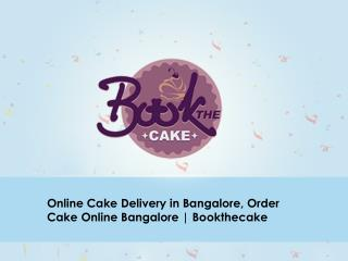 Online Cake Delivery in Bangalore, Order Cake Online Bangalore
