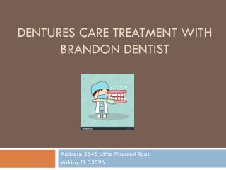 Denture Care Treatment with Brandon Dentist- Bridges Dental