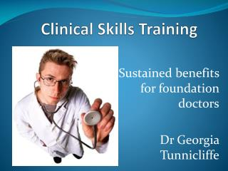 Clinical Skills Training