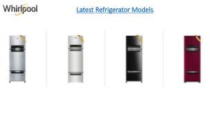 Latest Refrigerator Models
