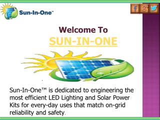 Solar LED Products