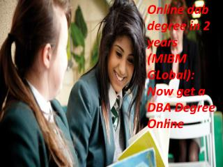Online dab degree in 2 years