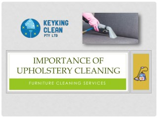 Importance Of Upholstery Cleaning At Your Brisbane Homes