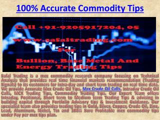 100% Accurate Commodity Tips, Crude Oil Inventory Tips Call @  91-9205917204