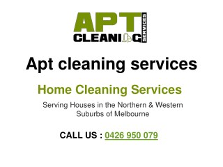 Home Cleaning Services Melbourne