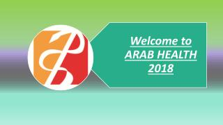 Arab Health 2018 in Dubai UAE