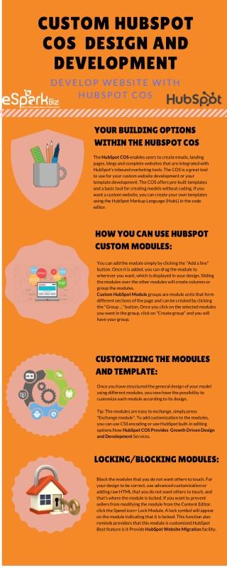 Custom HubSpot COS Development | HubSpot COS Design - Infographics