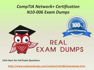 CompTIA N10-006 Exam Study Best Guide - N10-006 Exam Questions RealExamDumps