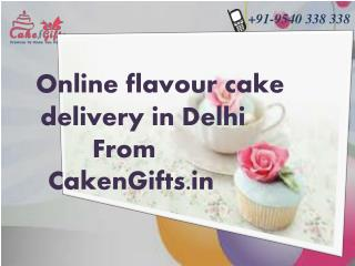 Choose Unique cake according to your choice  from CakenGifts.in