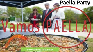The International Flair Of A Paella Party
