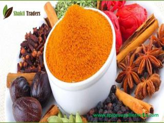 Spice Supplier in India
