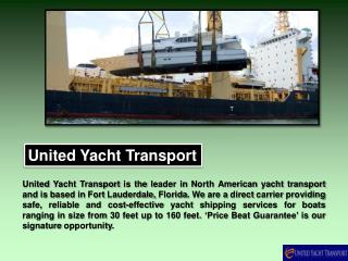 Yacht Shipping Costs and Other Important Factors
