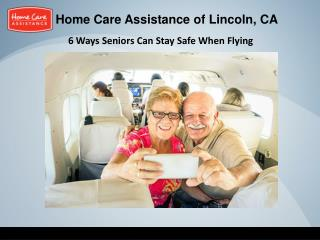 6 Ways Seniors Can Stay Safe When Flying