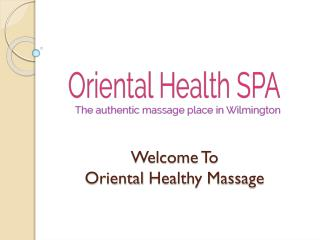Deep Tissue Therapy in Wilmington | Body Massage in Wilmington