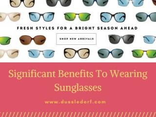 Best Sunglasses Models For UpComing Winter