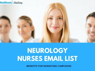 Neurology Nurses Email List