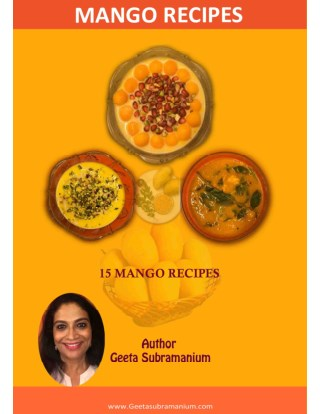 15 Mango Recipes - Traditional Indian Recipes for both Raw and Ripe Mangoes