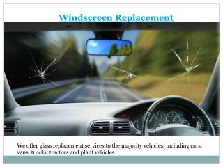 Windscreen repair & replacemment in Perth