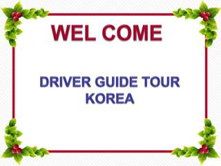 Driver Guide Tour