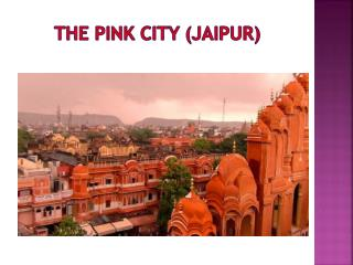 Jaipur Visit by Luxury Tempo Traveller