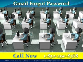 Dial Gmail Password Recovery 1-850-290-8368 to Weed out Your Worries