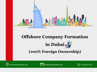 Offshore Company Setup in Dubai – 100% Foreign Ownership