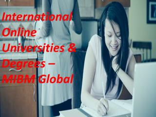 International Management is a space of International Online Universities & Degrees