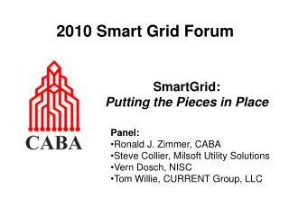 2010 Smart Grid Forum