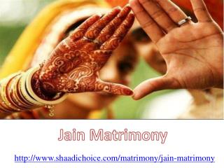Jain Marriage Services