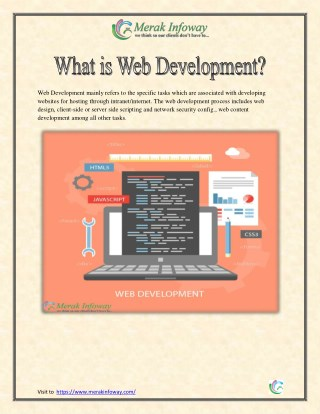 What is Webdevelopment?