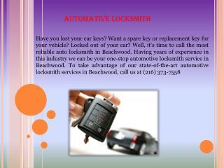 Automative Locksmith
