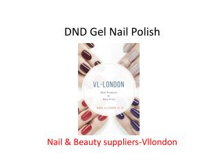 Nail & Beauty Supplier- vllondon