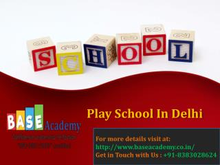 Best preschool in delhi