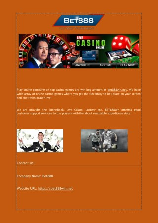 Best Casino Games Gambling Website in Malaysia
