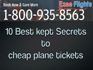 How to Book Cheap Plane Tickets