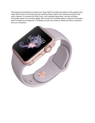 Buy A Series Of Apple Smart Watches | Apple Accessories Store In Meerut