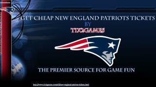 New England Patriots Tickets Discount Code