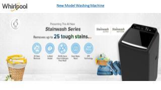 New Model Washing Machine
