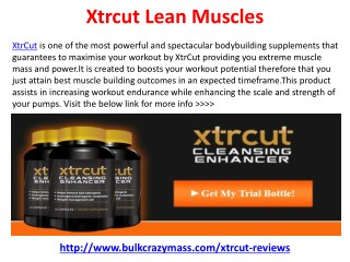 Xtrcut Supplement Where to Buy ?