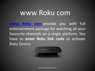 Correct Method To Enter Roku Link Code