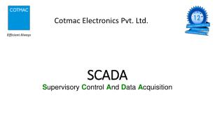 SCADA | Industrial Automation Solution Provider | Cotmac Electronics