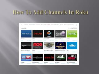 How To Add Channels In Roku...??? | Roku.com/link