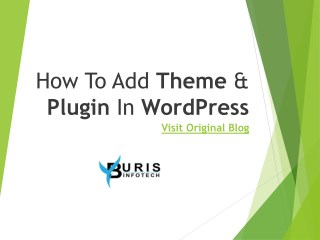 How To Add Theme & Plugin In WordPress