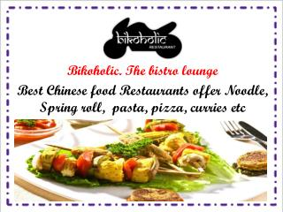 Best Continental Restaurants In Rohini