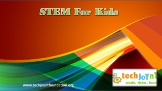 STEM For Kids