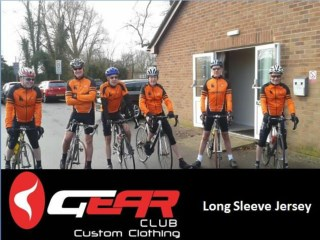 Custom Long Sleeve Jerseys | Gear Club Ltd UK