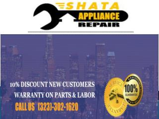 Repair appliances in LA
