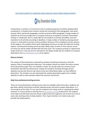 Top Dissertation Writing Services In UK