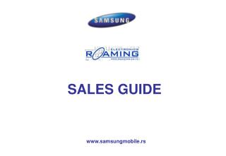 SALES GUIDE