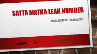 Satta matka leak number in Ghaziabad